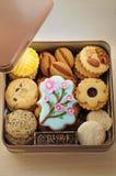 Plateau de biscuit Photos stock