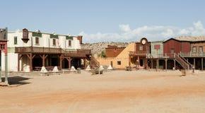 Plateau de filmagem ocidental Imagem de Stock