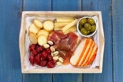 Plateau de fromage Images libres de droits