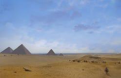 Plateau de Giza Images libres de droits