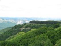 Plateau in de Krim Stock Fotografie