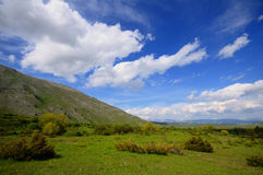 Plateau de l'Abruzzo Image libre de droits