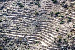 Plateau de l'Oman Saiq Images libres de droits