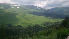Plateau de Lago Naki au printemps images stock