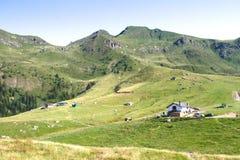 Plateau de montagne Photos libres de droits
