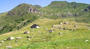 Plateau de montagne Image libre de droits