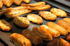 Plateau de pâtisserie image stock