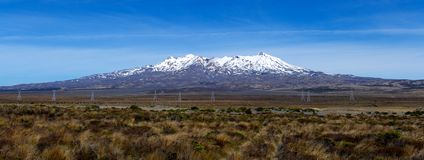 Plateau de Ruapehu images libres de droits