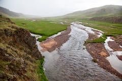 Plateau del Assy in Kazakstan Immagini Stock Libere da Diritti