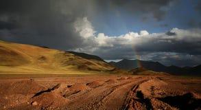 Plateau del Tibet Immagine Stock