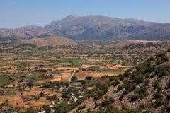 Plateau della Lasithi Fotografia Stock