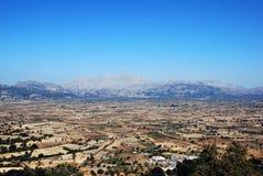 Plateau della Lasithi Fotografie Stock