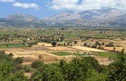 Plateau della Lasithi all'isola del Crete Fotografia Stock