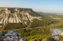 Plateau della montagna di Besh Kosh Fotografia Stock Libera da Diritti
