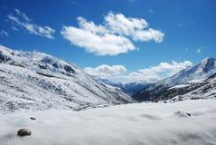 Plateau della neve immagine stock libera da diritti
