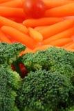 Plateau des légumes image libre de droits