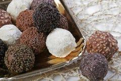 Plateau des truffes Photographie stock libre de droits