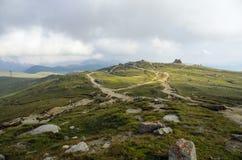 Plateau di Bucegi Fotografie Stock Libere da Diritti