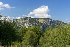 Plateau di Cheile Rametului Fotografia Stock