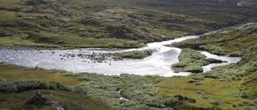Plateau di Hardangervidda Fotografie Stock