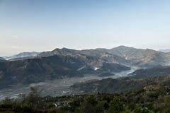 Plateau di Pokhara Fotografia Stock Libera da Diritti