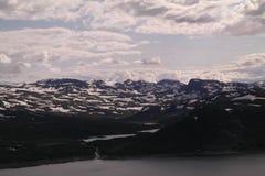 Plateau di Snowy Immagine Stock Libera da Diritti