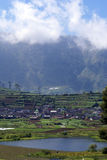 Plateau Dieng Stock Photography