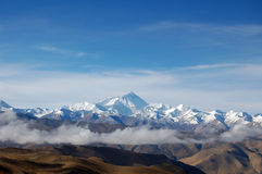 Plateau du Qinghai-Thibet Photo stock