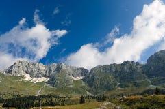 Plateau e Julian Alps di Montasio Immagine Stock
