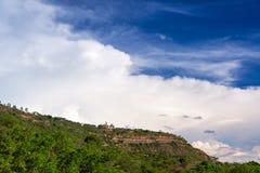 Plateau en Hemel stock foto's