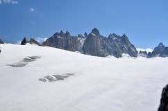 Plateau glaciale Fotografia Stock Libera da Diritti