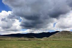 Plateau grassland-1 Photo libre de droits
