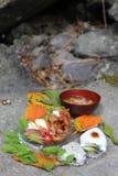Plateau Japon de chaudron Images libres de droits