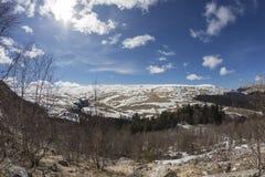 The plateau of the Lago-Naki Caucasus Stock Photography