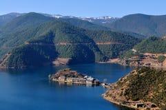 Plateau Lake Royalty Free Stock Photo