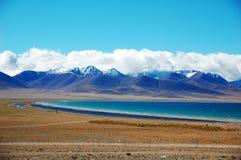 Plateau lake Royalty Free Stock Image