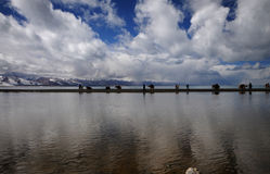 Plateau lake Stock Image
