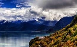 Plateau lakes Stock Image