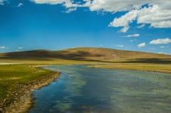 Plateau lakes Stock Images