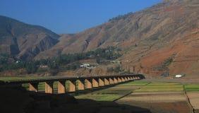 Plateau landscapes Stock Image