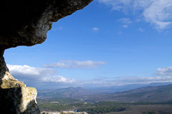 Plateau Mangup-Kale (Crimea) Stock Photography