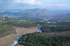 Plateau Mangup-Kale (Crimea) Stock Photos