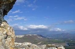 Plateau Mangup-Kale (Crimea) Stock Photo