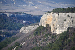 Plateau Mangup-Kale (Crimea) Royalty Free Stock Photos