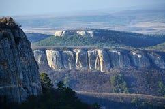 Plateau Mangup-Kale (Crimea) Royalty Free Stock Image