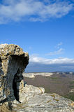 Plateau Mangup-Kale (Crimea) Stock Photo