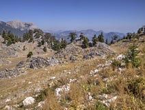 Plateau of Mount Tahtali, Turkey Royalty Free Stock Photography