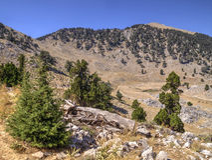 Plateau of Mount Tahtali, Turkey Stock Photo
