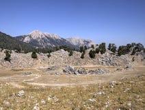Plateau of Mount Tahtali, Turkey Stock Images