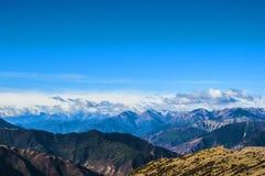 Plateau mountain Stock Photo